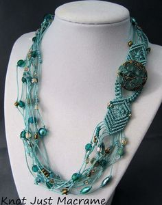 Gorgeous necklace made by Sherri Stokey
