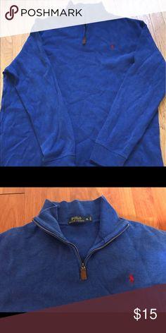 XL polo Ralph Lauren half zip Almost new Ralph Lauren Shirts Sweatshirts & Hoodies