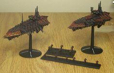Battlefleet Gothic Chaos Fleet by ROBOPOPE