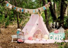 Miss Aisley 1st Birthday Session