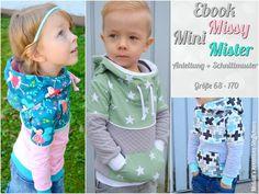 Ebook Mini Missy/Mister von Melian´s kreatives Stoffchaos auf DaWanda.com