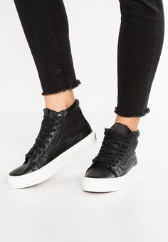 91a9e7ce76c Grab the Main Color of Black Vans Ua Hi Slim Cutout Dx Men Women Footwear  High At bestsellingwholesale - Vans Ua Hi Slim Cutout Dx Footwear High  Black UK ...