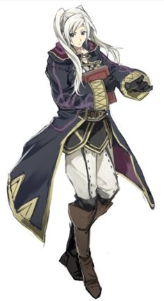 fire emblem awakening avatar - what's with those pants though