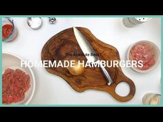 Hamburgers are an American staple and are King of the grill. And we have the most mouth-watering, easy recipe for making the absolute best homemade hamburger. Best Hamburger Patty Recipe, Hamburger Spices, Bistro Food, Food C, Homemade Hamburgers, Patties Recipe, Ground Beef Casserole, Summer Food, Kitchens