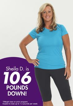 Join Sheila and millions of others who lost weight with our easy-to-follow plan including your favorite meals and snacks made healthier. Click to order now and get 40% off!