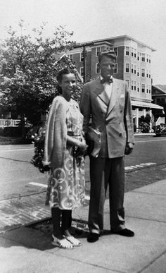 Billy Graham and Ruth McCue Bell were married in 1943 after Billy Graham graduated from Wheaton College. The newlyweds enjoyed walking to the church Billy Graham pastored in Western Springs, Illinois.