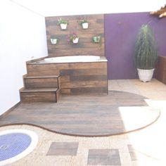 Hot Tub Garden, Hot Tub Backyard, Small Backyard Pools, Small Pools, Swimming Pool House, Back Garden Design, Small Pool Design, Mini Pool, Backyard Paradise