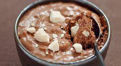 Recette de #mousse au #chocolat #meringuée