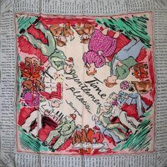 WW2 Jacqmar scarf