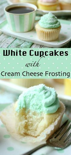 Classic white cupcakes recipe is simply the best. Moist, fluffy, and tender flavored with a traditional combination of almond and vanilla - plus I've got a tip that will give your cake so much flavor people will be begging to know how you do it. These homemade cupcakes are topped with whipped cream cheese icing. #cupcakesrecipe #whitecupcakes via @Marye at Restless Chipotle