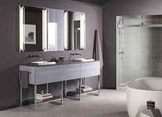 Image Gallery For Website With forethought and insight Robern vanities are designed to fit small and large spaces and Vanity BathroomBathroom CabinetsBathroom LightingHome