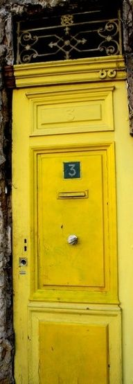 Mellow yellow - Love this color