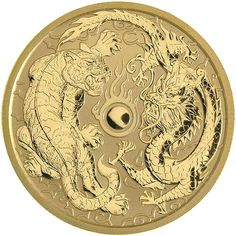 LOT OF 3 2012 1oz AUSTRALIAN SILVER DRAGON COLORED RED//GOLD /& NAVY BLUE /& BLUE