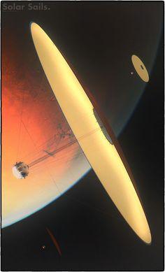 Last Solar Sails image for a while ( I promise ) Model by Nick Stevens. Lightwave and Photshop Solar Sails II Spaceship Art, Spaceship Design, Spaceship Concept, Concept Ships, Concept Art, Arte Sci Fi, Sci Fi Art, Sci Fi Spaceships, Sci Fi Ships