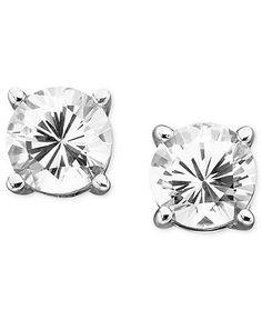 white sapphire earrings £150
