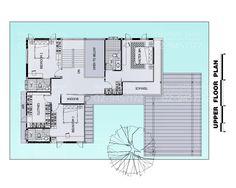 แบบบ้านสองชั้นสไตล์รีสอร์ท, แบบบ้าน 2 ชั้น, แบบบ้าน 4 ห้อง