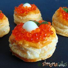 Aperitive festive cu peste si fructe de mare Quail, Homemade Cakes, Caviar, Finger Foods, Tea Party, Appetizers, Low Carb, Fish, Pictures