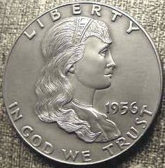 "by Bill ""Billzach"" Jameson Hobo Nickel, Female Profile, Birth Year, Half Dollar, Coins, Carving, Portraits, Rooms, Wood Carvings"