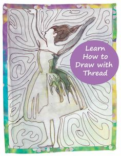 A New Method for Painting on Fabric - Tips for Using Inktense ... : quilting daily - Adamdwight.com