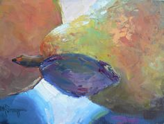 """Landscape Artists International: Art Sale, Daily Painting, """"The Kiss"""" by Carol Schiff, 6x8"""" Oil"""