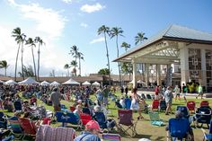 A Beautiful Day at Maui Arts & Cultural Center for the Maui Brew Fest!