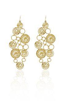 dangly earrings!