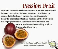 passion fruit benefits for your health