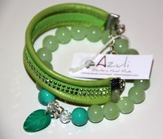 Azuli biżuteria z pasją: Wiosenne Bransoletki :)