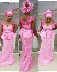 Check Out This Lovely Aso Ebi Skirt and Blouse Style - DeZango Fashion Zone