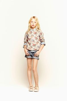 Février - KIDS - LOOKBOOK - ZARA France