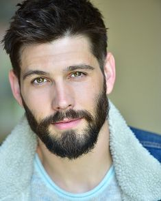 Gideon Cross, Beard Styles For Men, Hair And Beard Styles, Moustache, Emerson, Casey Deidrick, Beard Tips, Jackson, Great Beards