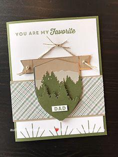 Paper Cards, Men's Cards, Craft Cards, Stampin Up Paper Pumpkin, Pumpkin Cards, Beautiful Handmade Cards, Fathers Day Cards, Card Making Inspiration, Scrapbook Cards