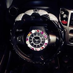 Bling Steering Wheel Cover White Bling Crystal Car Accessories Silver – Gifts with Love and Art Car Accessories For Guys, Car Interior Accessories, Silver Accessories, Car Steering Wheel Cover, Wholesale Diamonds, Leather Flowers, Silver Rhinestone, Pu Leather, Bling