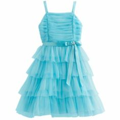 Princess Faith Tiered Ruched Dress - Girls 7-12