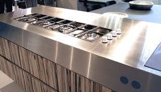 185mm stainless steel worktop by ABK InnoVent