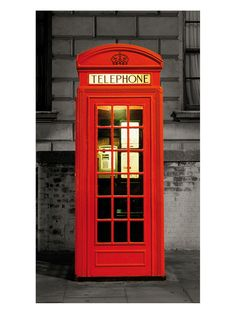 67 New Ideas red door london telephone booth London Telephone Booth, London Phone Booth, Red Home Decor, Home Wall Decor, Blender 3d, British Decor, Red Wall Art, London Wall, Vintage Phones
