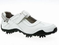 Womans FootJoy LoPro 97077 9Medium Mesh/White Waterproof Leather Golf Shoes