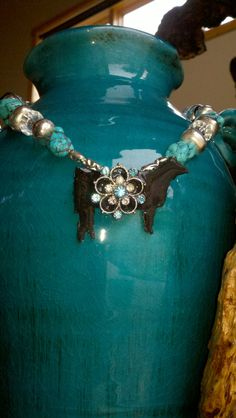 Turquoise Silver Crystal Black Show Cattle by thebrokenpost Show Cows, Show Cattle, Cattle Farming, Showing Livestock, How To Show Love, Things To Buy, Barns, Jewelery, Southern