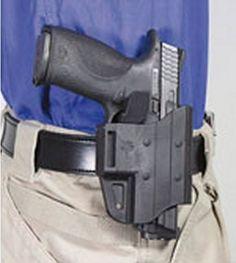 Desantis 116P Tap Out Plain Clothes Belt Holster Ambidextrous Black Glock 17, 19, 22, 23, 31, 32, 37, 38 116PBJB2Z0