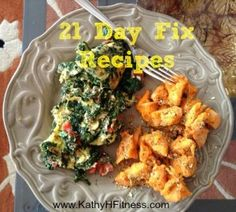 Need 21 Day Fix Recipes?  Visit my blog for more ideas!