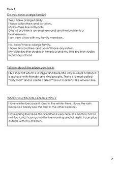 APTIS Speaking Questions and Answers by Thalia Teacher Question And Answer, This Or That Questions, Thalia, Students, Teacher, English, Writing, Chocolate Cake, Recipe