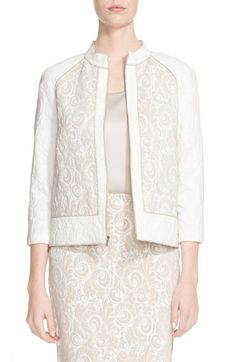 St. John Collection 'Sophia' Knit Jacket available at #Nordstrom