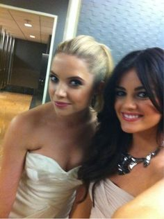 Ashley Benson and Lucy Hale