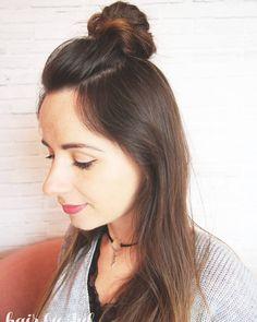 Oto dowód na to że da się zrobić koczek samuraja na cienkich włosach i nie wyglądać przy tym jak łysol. W najnowszym wpisie pokazuje jak tego dokonać!  link w bio #koczek #samuraja #krokpokroku #cienkiewlosy #fryzury #blogowlosach #blogerka #ja #dziewczyna #wlosy #brunetka #hairselfie #me #hairblogger #hairblog #thinhair #halfbun #hairstyle #hairfashion #lovehair #hairart