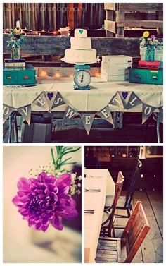Vintage Wedding Elements3 //  Real wedding inspired by this board!