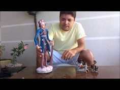 Diy, como fazer uma Estátua de Cimento (rejunte) Lampião (rei do cangaço) Tutorial - YouTube