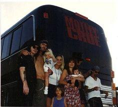 Mick Mars, Tommy Lee, Bobbi Brown, Brandi Brandt and Nikki Sixx