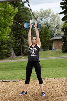 Ditch the Gym for the Playground Fun outside exercises with Tamara Podry from Anchor Fitness Killer Workouts, Gym Membership, Certified Personal Trainer, During The Summer, Fitness Nutrition, Kids Playing, Playground, Montana, Anchor