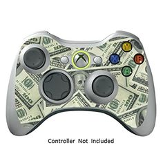 Skin Stickers for Xbox 360 Controller  Vinyl High Gloss Sticker for X360 Slim Wired Wireless Game Controllers  Protectors Stickers Controller Decal  Big Ballin  Controller Not Included  *** Visit the image link more details.
