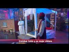 Cristobal colon y su mujer chilena